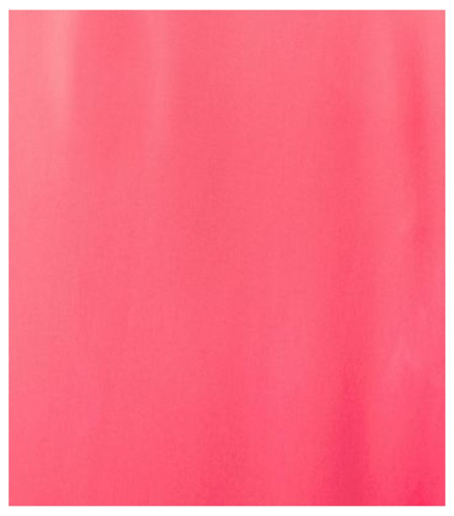 Bright Pink Roll Sleeve Chiffon Blouse New Look