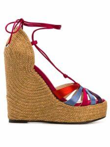 Jimmy Choo Denize 125 espadrille sandals - Red