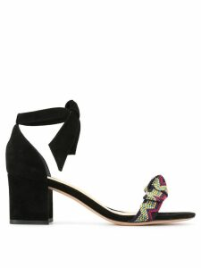 Alexandre Birman printed strap sandals - Black