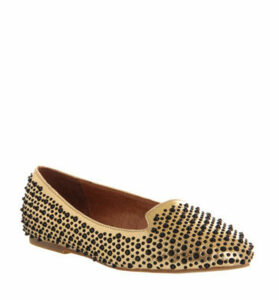 Jeffrey Campbell Martini Black Stud GOLD METALLIC