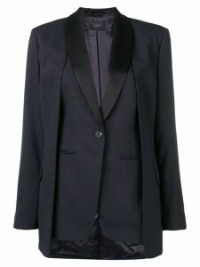Frenken panelled blazer - Blue