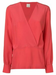 Pinko V-neck blouse - Red