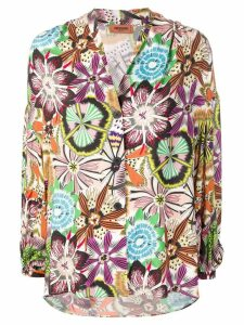 Missoni floral print blouse - Black