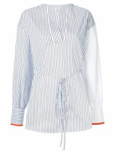 Victoria Victoria Beckham striped blouse - White