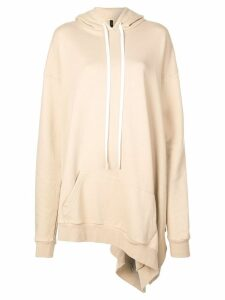 Unravel Project oversized hoodie - NEUTRALS