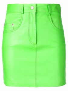 Manokhi fitted mini skirt - Green