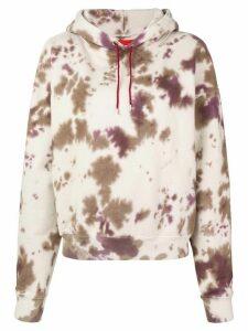Eckhaus Latta tie-dye hoodie - NEUTRALS