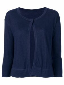 Sottomettimi one button cardigan - Blue
