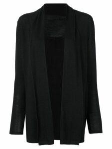 Sottomettimi fine knit cardigan - Black