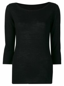 Sottomettimi fine knit sweater - Black