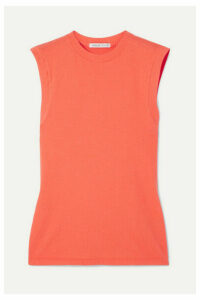 AGOLDE - Cotton-jersey Tank - Orange