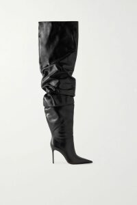 Unravel Project - Lace-up Cotton-jersey Sweatshirt - Gray