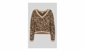 Jungle Cat Jacquard Knit