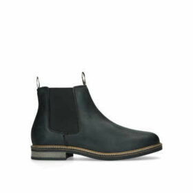 Barbour Farsely Chelsea - Black Leather Casual Boots