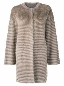 Liska mink fur coat - Neutrals