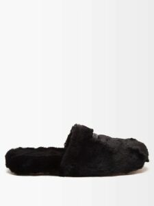 Rochas - Logo-appliqué Cotton Sweater - Womens - Red