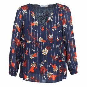 Vila  VIAMOLLON  women's Blouse in Blue