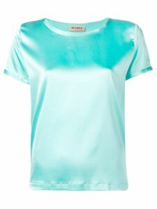 Blanca satin top - Blue