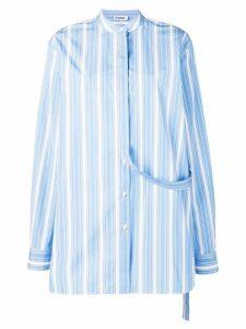 Jil Sander Giusy striped shirt - Blue