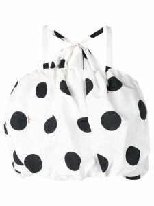 MSGM polka dot top - White