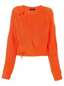 Diesel distressed jumper - Orange