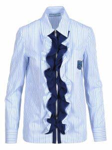 Prada Prada Ruffle-trimmed Shirt
