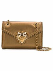Dolce & Gabbana mini Devotion shoulder bag - Gold