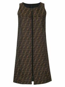 Fendi Pre-Owned reversible shift dress - Brown