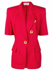 Gianfranco Ferré Pre-Owned 1980's shirt-style jacket - Red