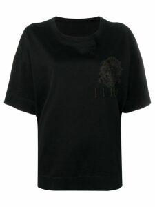 Gianfranco Ferre Pre-Owned 1980's oversized T-shirt - Black