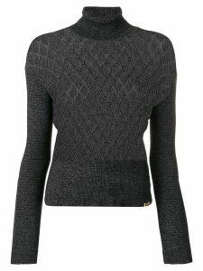 Dolce & Gabbana Pre-Owned 2000's turtleneck jumper - Grey