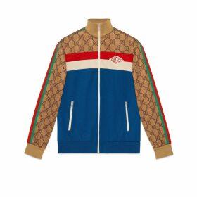 GG technical jersey jacket