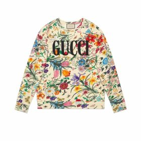 Oversize sweatshirt with Gucci print