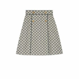 GG canvas A-line skirt
