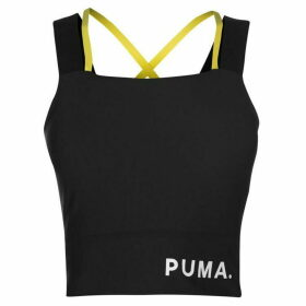 Puma Chase Crop T Shirt - Black