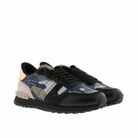 Valentino Sneakers - Camouflage Sneakers Black/Multi - blue - Sneakers for ladies