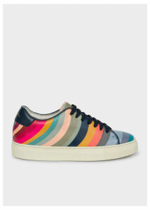 Women's 'Swirl' Leather 'Basso' Trainers