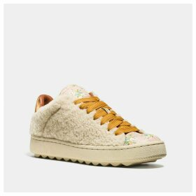 Coach C101 With Allover Shearling