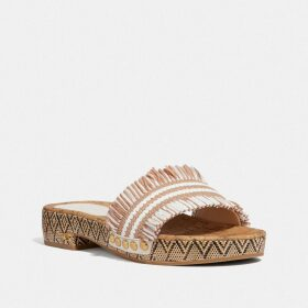 Coach Long Pleated Skirt