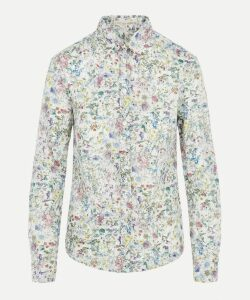 Wild Flowers Womens Tana Lawn Cotton Camilla Shirt