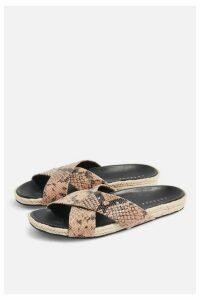 Womens Rachel Footbed Sandals - Natural, Natural