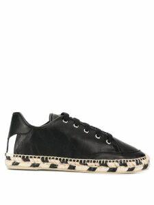 Stella McCartney raffia sole sneakers - Black