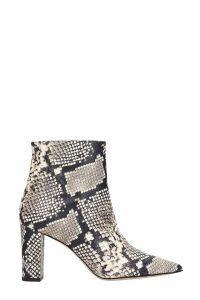 Marc Ellis Python Print Ankle Boots