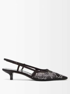 Joseph - Amine Silk Toile Blouse - Womens - Light Blue