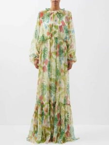 Balenciaga - Embroidered Crest Logo Virgin Wool Sweater - Womens - Light Grey