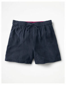 Talia Shorts Navy Women Boden, Navy