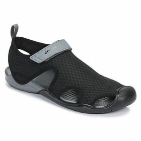 Crocs  SWIFTWATER MESH SANDAL W  women's Sandals in Black
