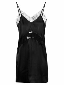 Almaz short lace dress - Black