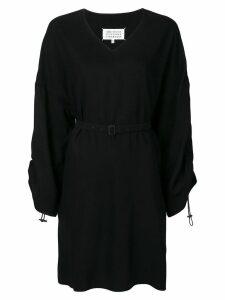 Maison Margiela belted dress - Black