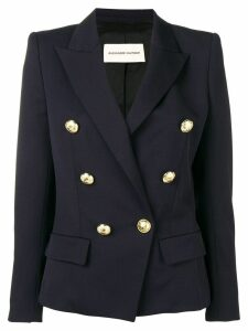 Alexandre Vauthier double breasted jacket - Blue
